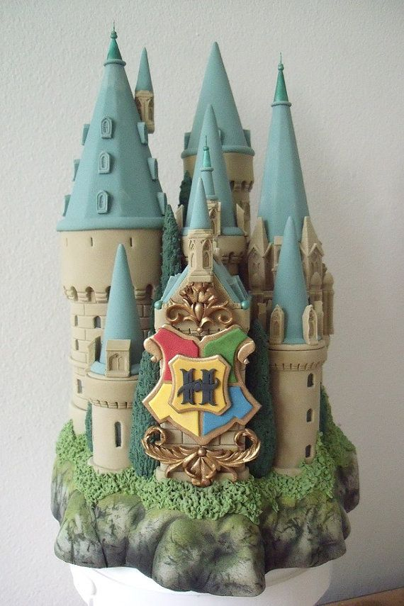 Hogwarts School Castle Cake Topper by BershoDesigns on Etsy