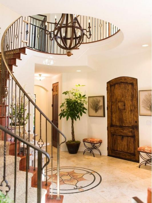 Foyer Entrance Exam : Best curved staircase ideas on pinterest grand