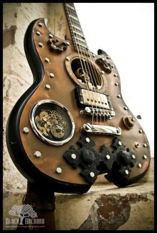 1000 ideas about steampunk guitar on pinterest guitar electric guitars and custom guitars. Black Bedroom Furniture Sets. Home Design Ideas