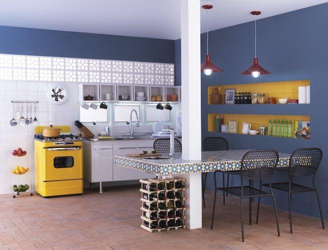 Revestimentos retrô são tendência na decoração; veja como usar - Casa e Decoração - UOL Mulher