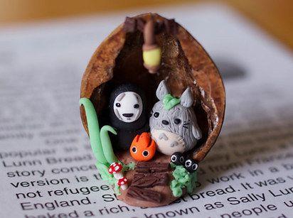 Studio Ghibli Clay Miniatures | 47 Insanely Adorable Studio Ghibli Items You Need Immediately