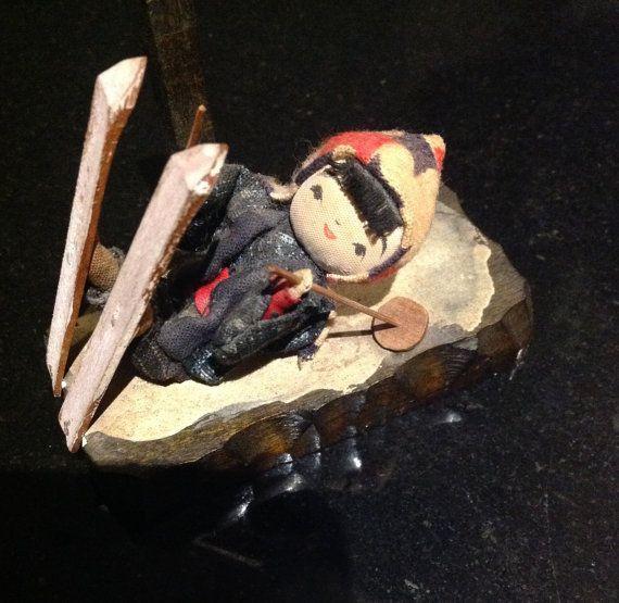 SALE 15% OFF  Little Japanese Girl Ski Doll. by ComicKamikaze