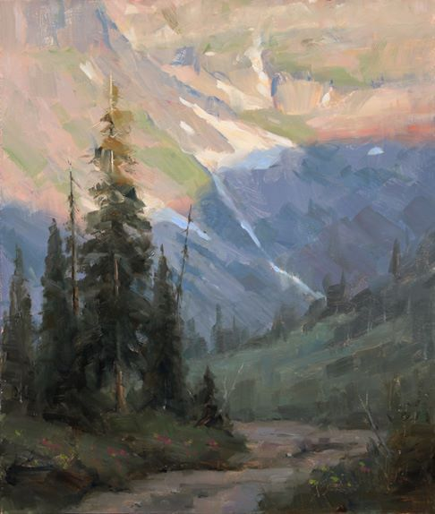 Ludwig Muninger Art for Sale | painting landescape alpine | Pinterest