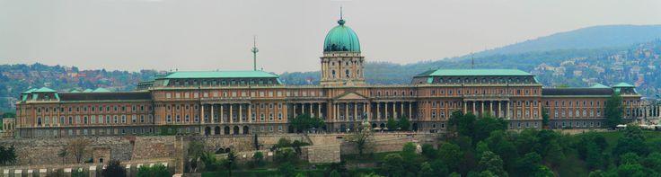 Panorama of Buda Castle, Budapest