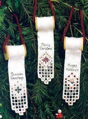 Hardanger Christmas designs