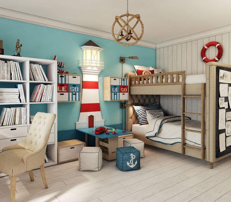 401 besten maritim einrichten wohnen bilder auf - Kinderzimmer maritim ...