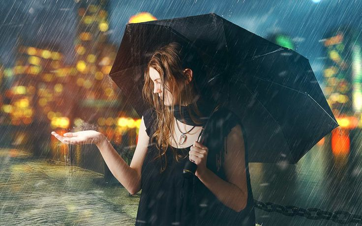 Tutoriel Photomanipulation Sous la pluie avec Photoshop dans ce tuto Photoshop 2017 nous allons réaliser une Photomanipulation Sous la pluie avec Photoshop