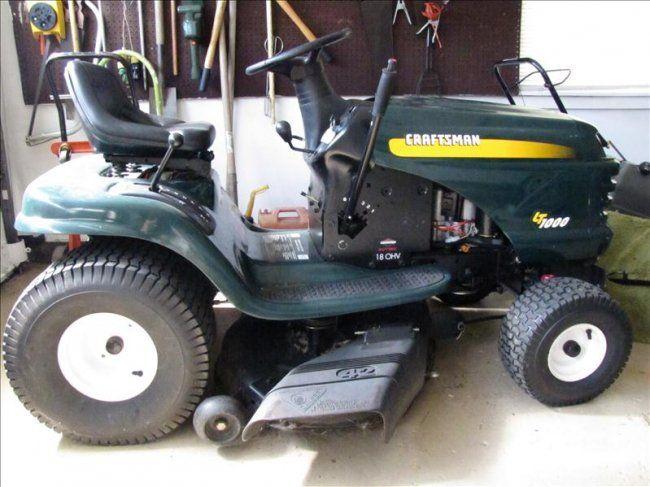 Craftsman Riding Lawn Mowers | 118: Craftsman LT1000 Riding Lawn Mower