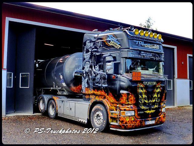 SCANIA R620 V8 Topline - TDL-Entreprenad - SMOKEY and the BANDIT - Sweden (5) | Flickr - Photo Sharing!