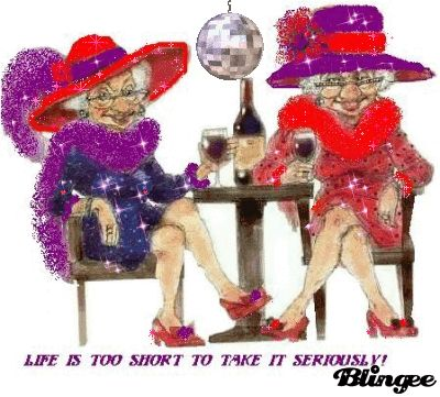 17 Best images about Red Hat Society on Pinterest | Clip art ...