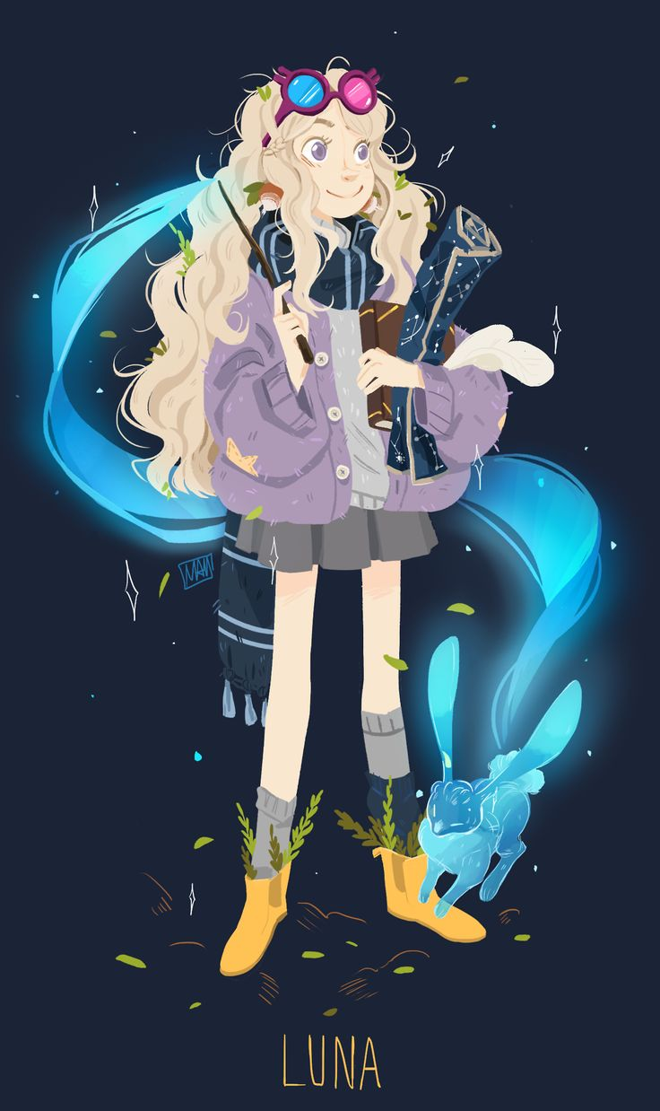 Luna Lovegood by MegAdrian'Art