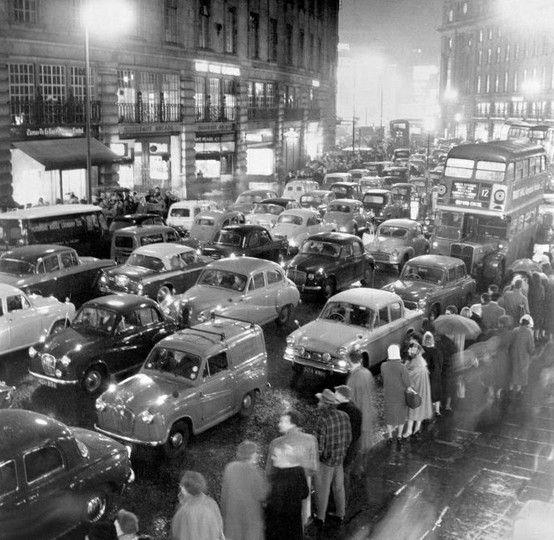 Regent Street, London in 1960.