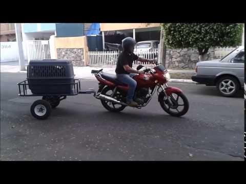 MINI REMOLQUES PARA MOTO REMI GUADALAJARA JALISCO - YouTube