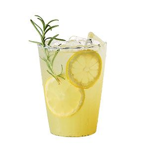 Vanilla-Rosemary Lemonade—Dress up classic lemonade with vanilla beans and fresh rosemary for
