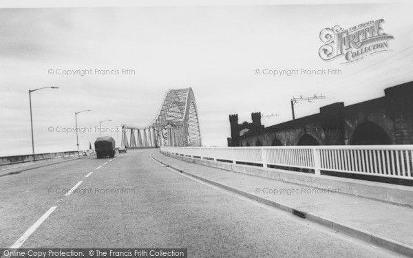 Widnes, Runcorn Widnes Bridge c.1961, from Francis Frith