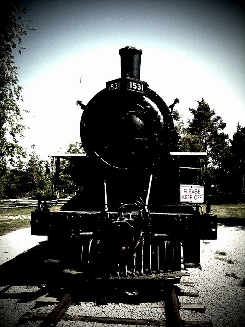 Simcoe County Museum - Train by staceywaspe, via Flickr
