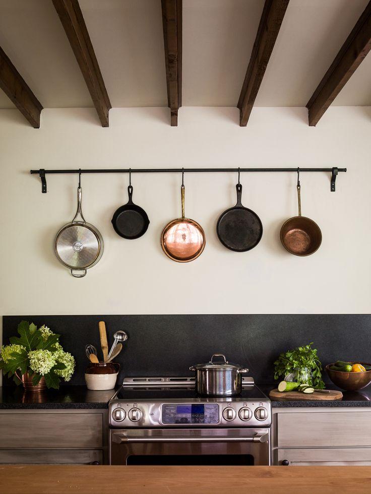 Las 25 mejores ideas sobre ollas para colgar en pinterest for Ganchos para repisas