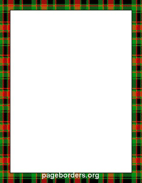 Tartan Border Backgrounds Page Borders Borders For