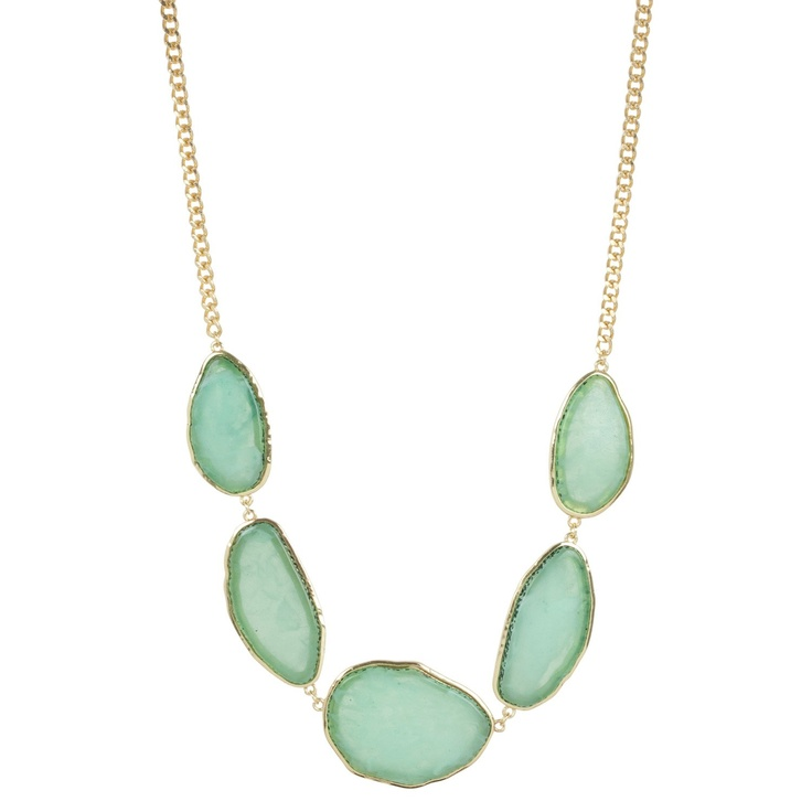 I love this Kirra Tate necklace from @Layla Grayce! It is such a pretty, calm shade of aqua and at the sale price of $29.00, you're kind of stealing it.: Tate Necklaces, Green Necklaces, Graduation Green, Layla Grace, Tate Graduation, Kirra Tate, King Laylagrayc, Calm Shades, Layla Grayc