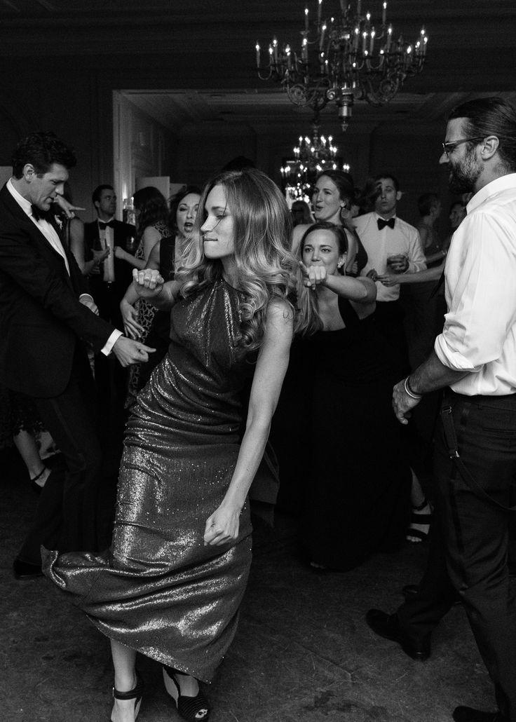 """If you go hard you gotta get on the floor"" at Graydon Hall Manor.  Graydon Hall Weddings.  Photo Tara McMullen"
