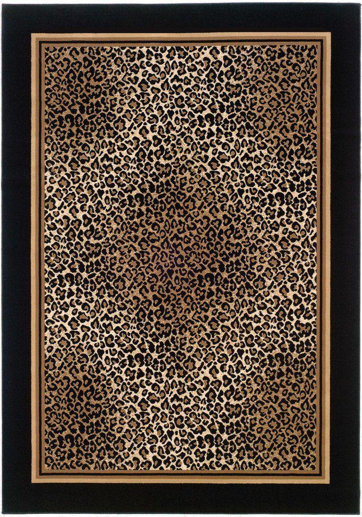 Couristan Everest Leopard Area Rug Leopard Print Rug Leopard Rug Area Rugs