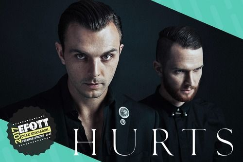 Hungary! We will be headlining EFOTT Festival next year on the edge of Lake Velence, see you all very soon. Hurts, December 2016