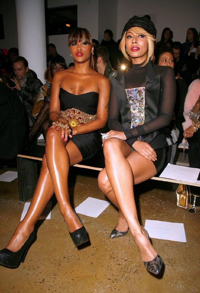 Beauties Rapper Eve & Singer Keri Hilson