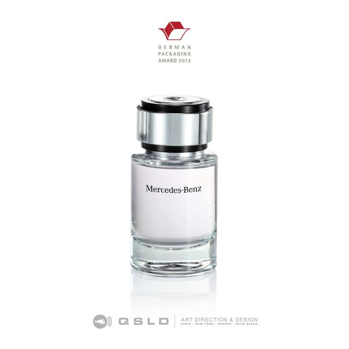Mercedes Benz Perfume : German Packaging Award – Best Packaging 2012 – Worldwide - Design by QSLD