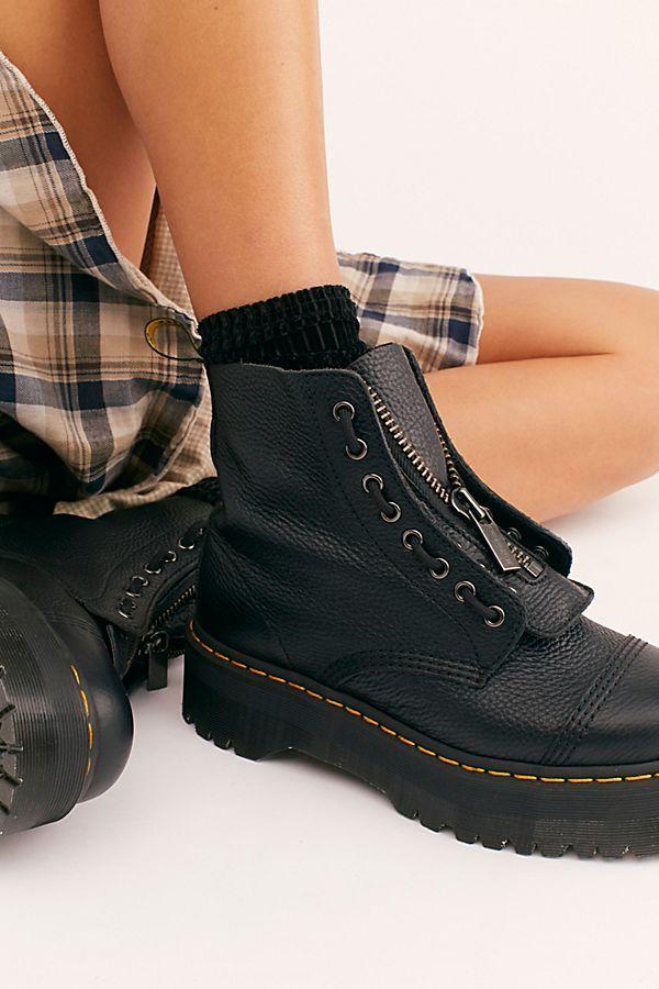 Dr. Martens Sinclair Zip Front Boots