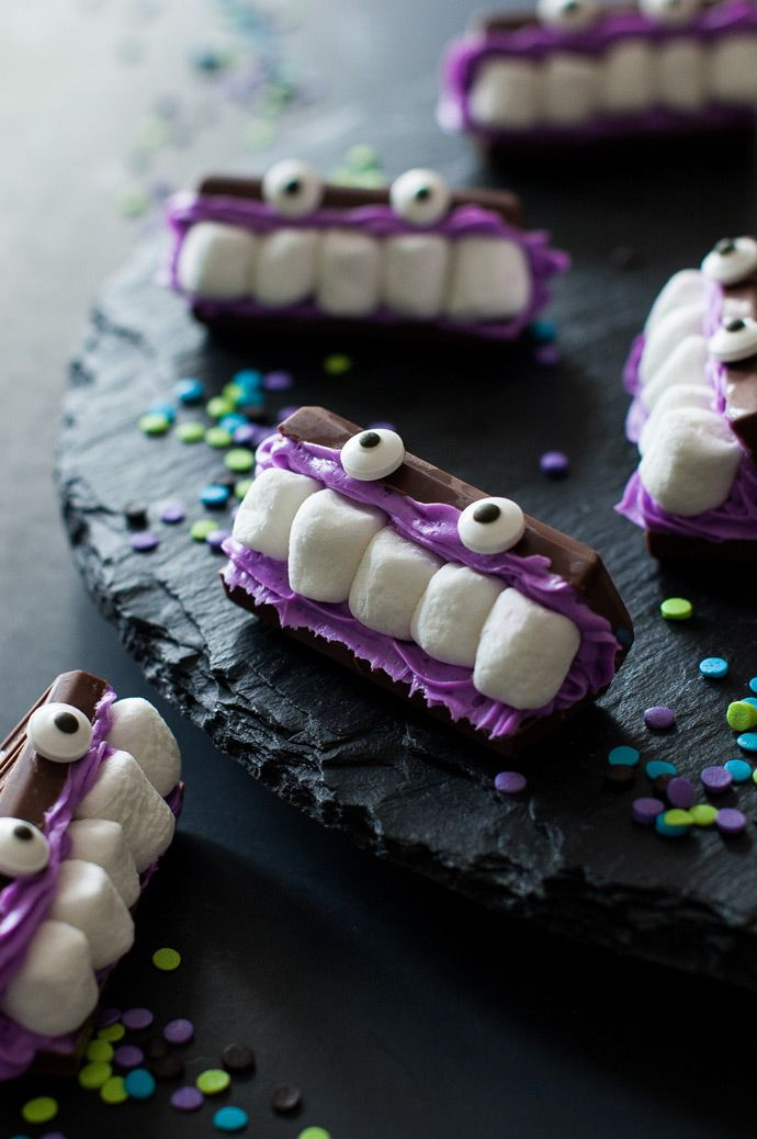 Mini Mashmallow Chocolate Monsters DIY