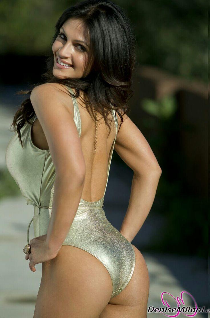 Denise Milani One Piece Swimsuits Bikinis Chicas En