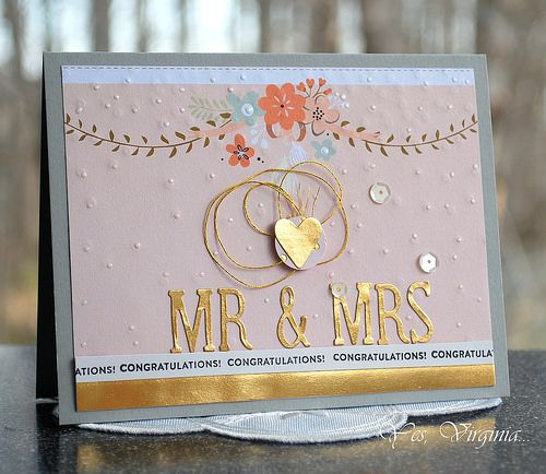 Card #1 Mr. & Mrs. http://virginialusblog.blogspot.ca/2015/05/virginias-monthly-stamp-study-8.html