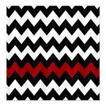 Black White Chevron Shower Curtain. Red accent on a black and white chevron print shower curtain  Looks great 9 best Black White Chevron Shower Curtain images Pinterest