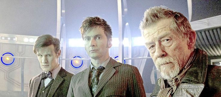 Doctor Who's Matt Smith and David Tennant devised a plan to continue past the 50th Anniversary says Steven Moffat #Geek