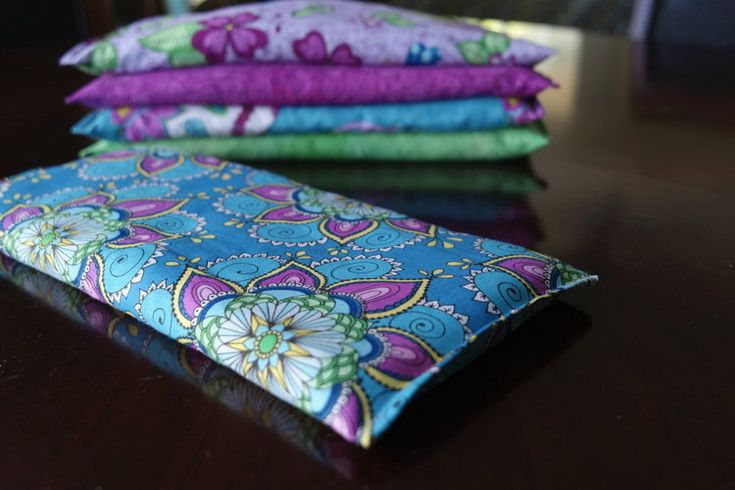 How to Sew Soothing Eye Pillow with Lavender & Rice FREE Pattern — Kristin Omdahl