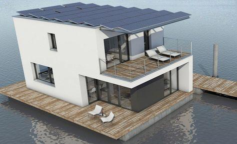 La première maison flottante 100% autonome - Maison passive.