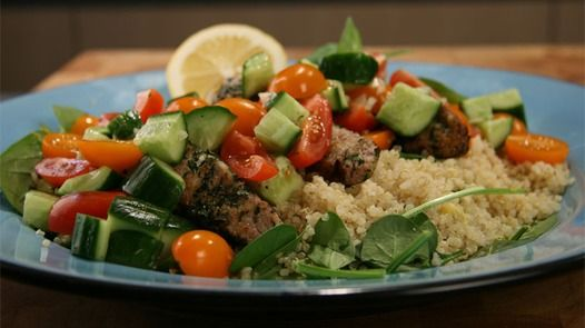 Weightloss: Herby Lamb with Quinoa Janella Purcell