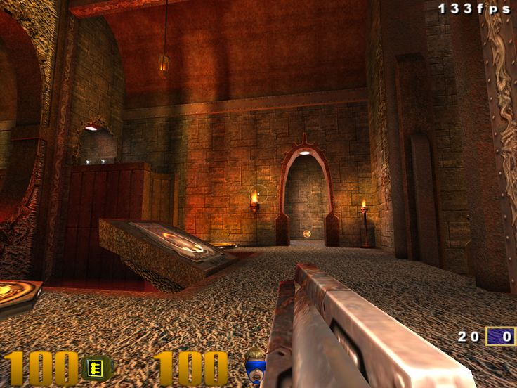 Quake 3 on  Raspberry Pi download the binaries here