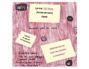 3e cycle À la manière de Gilles Tibo et de Josée Bisaillon «Le vrai de vrai journal de ma vie»