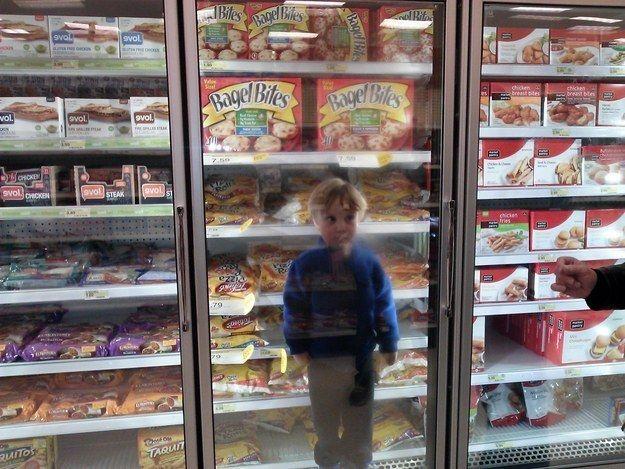 Als er mit Opa einkaufen ging | 17 Kinder, die auf jeden Fall schon mal bessere Ideen hatten