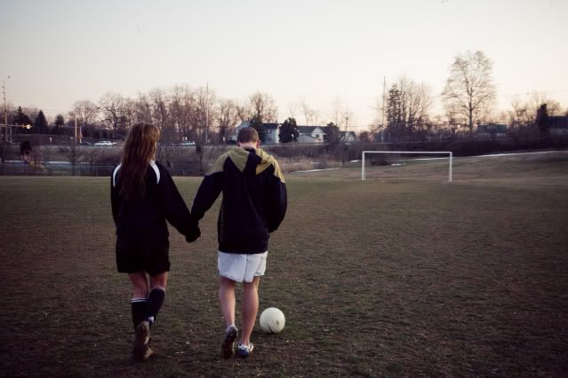Soccer Engagement. Would literally be perfect. ❤️