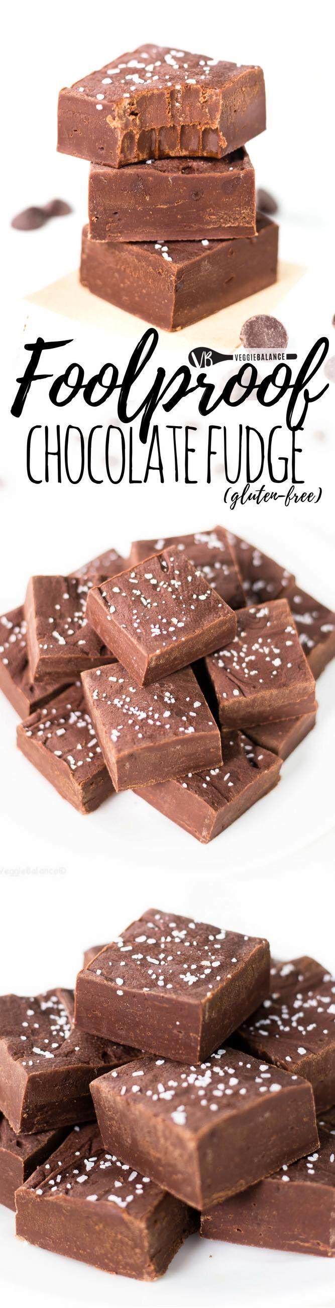 Easy Chocolate Fudge Veggie Balance This Recipe Is Foolproof