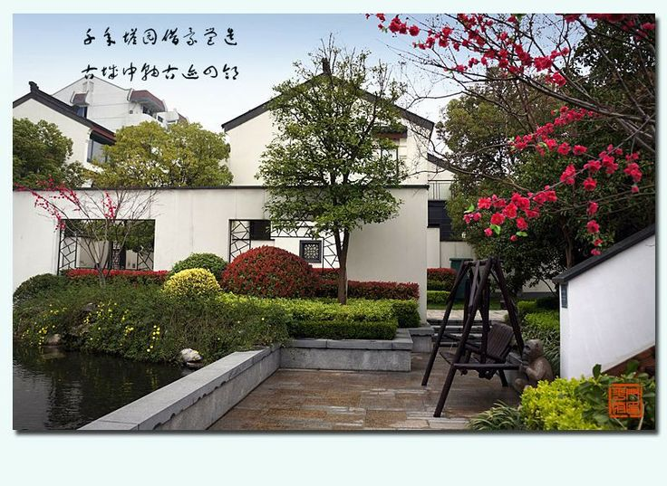 The modern chinese landscape design traditional for Chinese garden design