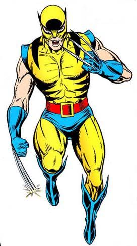 Marvel wolverine yellow brown suit - Google Search ...