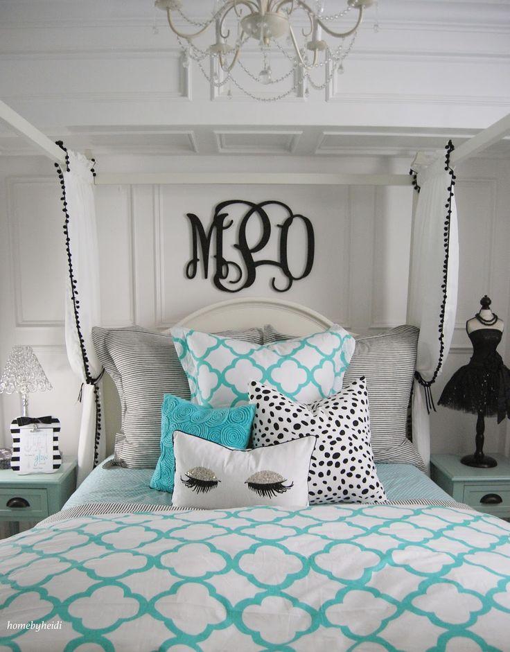 teen girls bedroom decorating