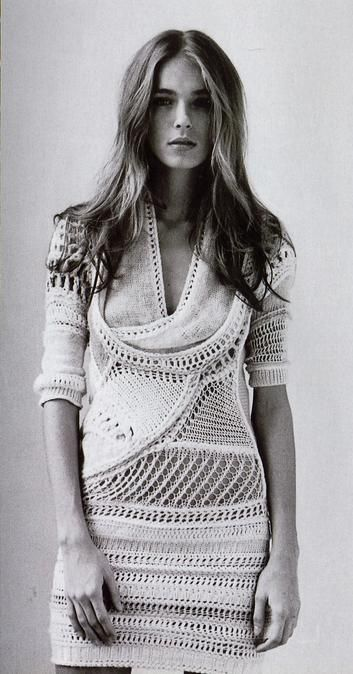 Clare Tough | Knit | Knitwear | lookbook | editorial | high fashion | tricot~LOVE!