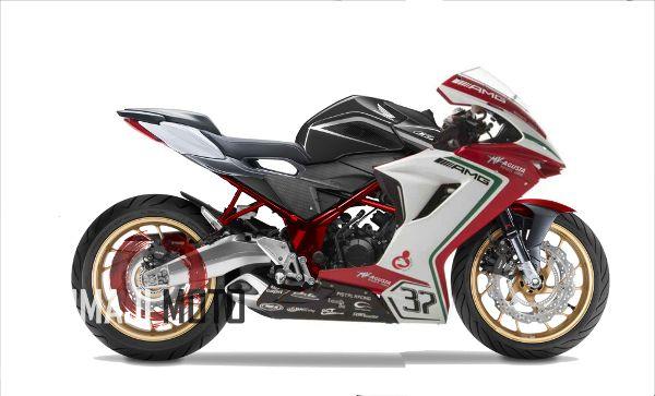 Modifikasi Honda CBR150R Ala MV Agusta