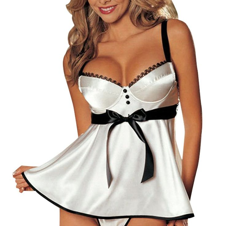 Eleery Fashion Hot Women Sexy Strap Lingerie G String Set Sleepwear Nightwear Babydoll Dress Pajamas Bath Robes Gowns: Amazon.co.uk: Baby
