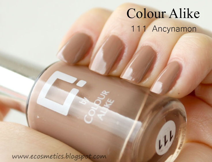 eCosmetics: Colour Alike Q #111 Ancynamon - swatche, swatch