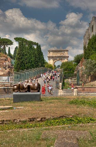 Via Sacra, Roma.
